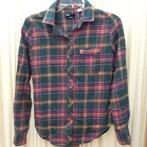 Plaid Flannel Blouse by BDG Urban Outfitters
